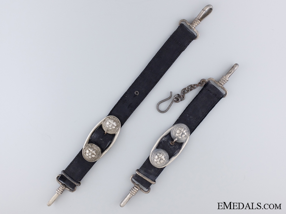 eMedals-A Pair of German Naval Administrative Hangers
