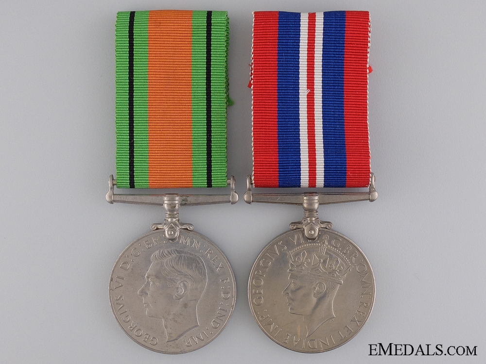eMedals-A Pair of Second War British War Medal