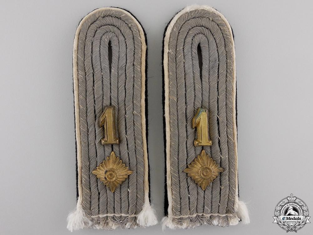 eMedals-A Pair of SS-Obersturmführer Shoulder Boards
