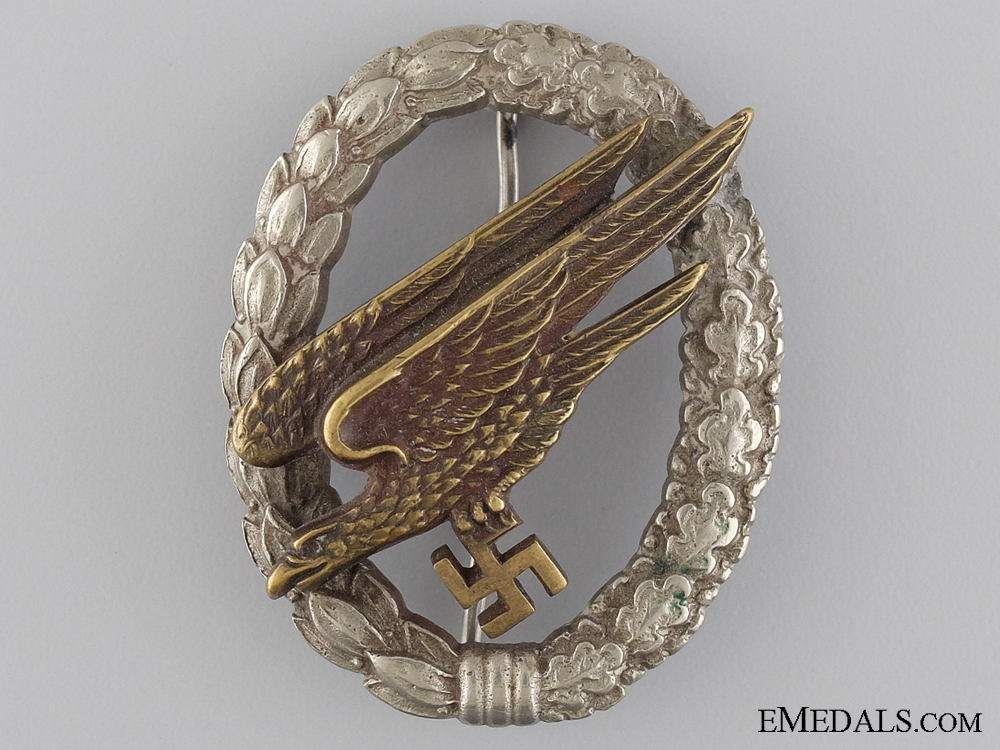 eMedals-A Paratrooper Badge by IMME & SOHN, BERLIN