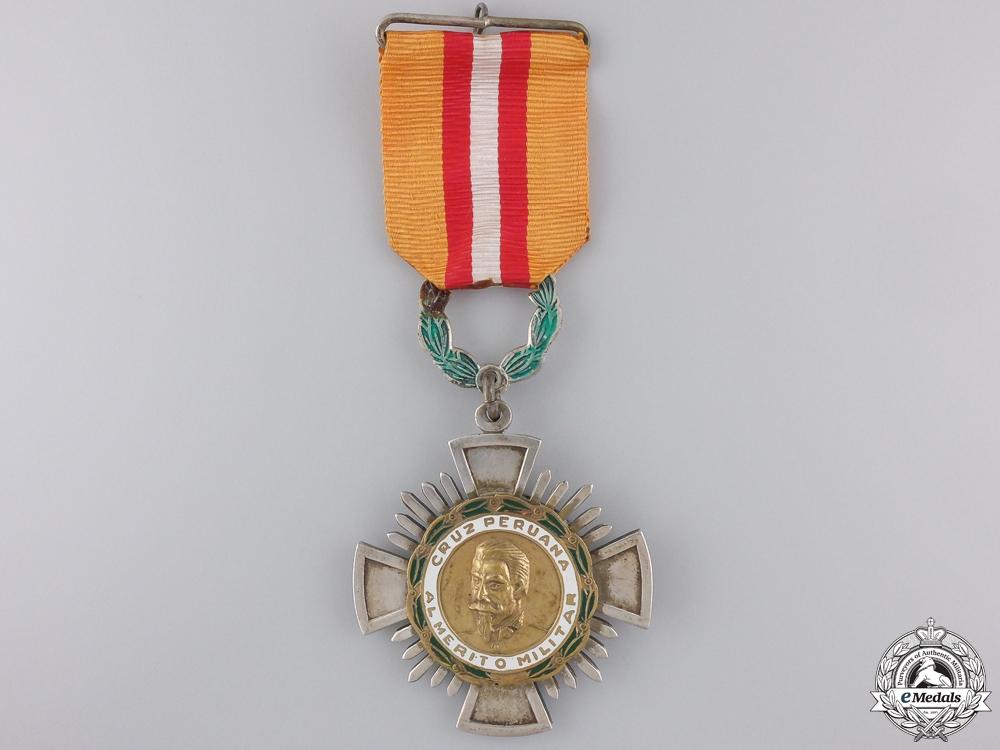 eMedals-A Peruvian Cross of Military Merit; Knight