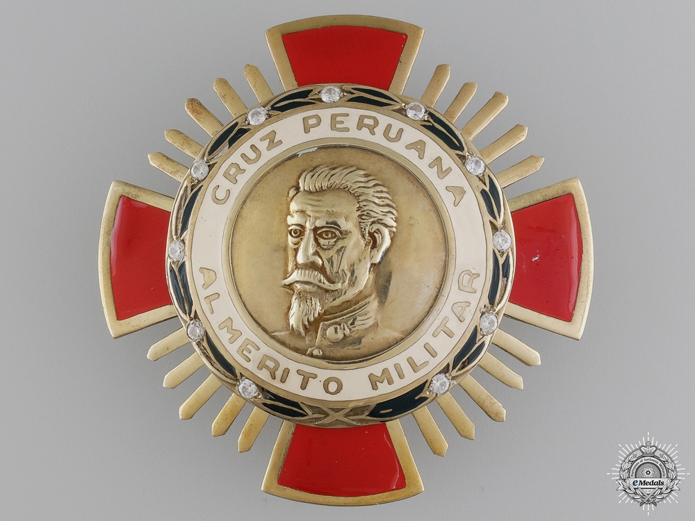 eMedals-A Peruvian Order of Military Merit; First Class