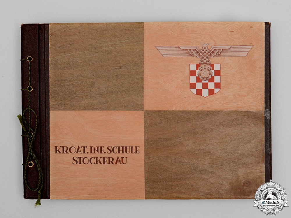 eMedals-A Photo Album of Oberleutnant Topeters, 369th Croatian Infantry Regiment