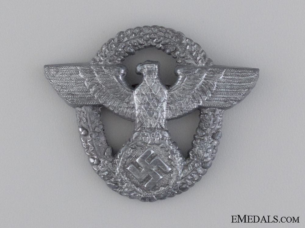 eMedals-A Police Cap Badge by Friedrich Linden, Lüdenscheid