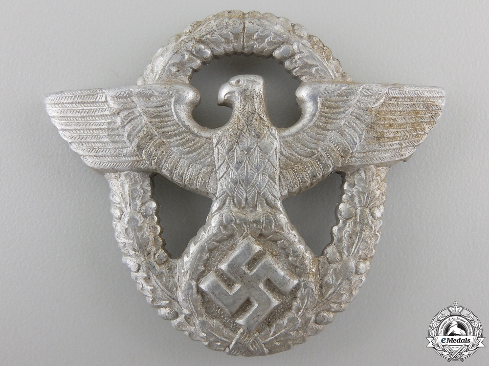 eMedals-A Police Cap Badge by OGL