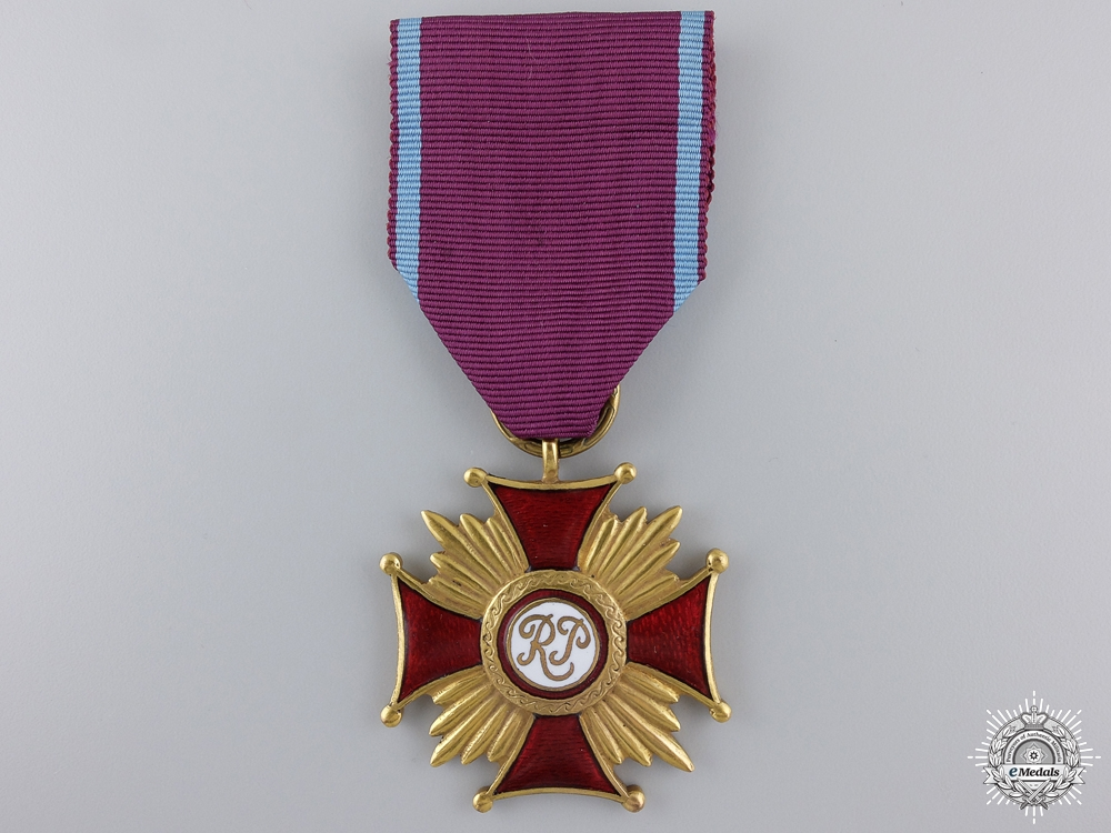 eMedals-A Polish Merit Cross; First Class