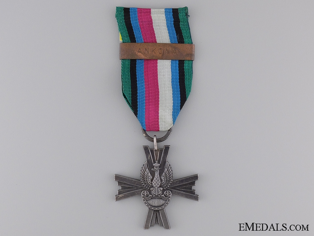 eMedals-A Polish Military Cross of the Armed Forces in the West 1939-1945