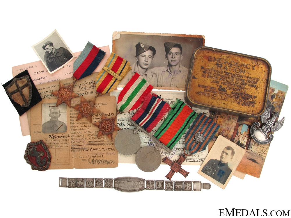 eMedals-A Polish Monte Cassino Group