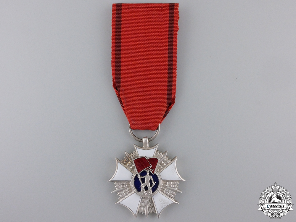eMedals-A Polish Order of the Standard of Labour; 2nd Class
