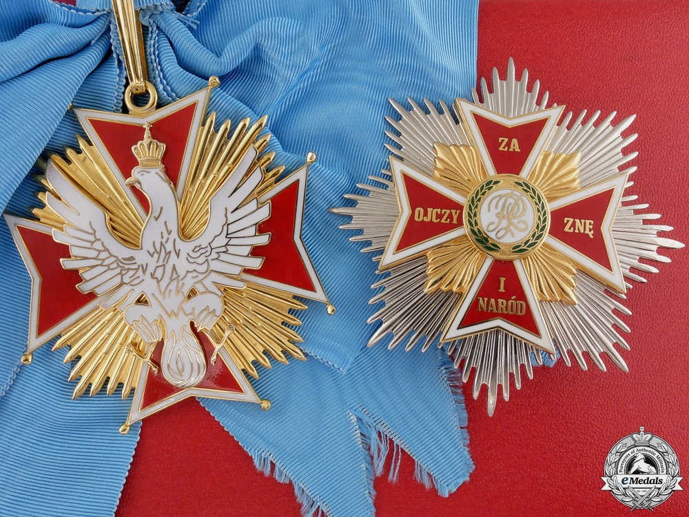 eMedals-A Polish Order of the White Eagle by Spink & Son