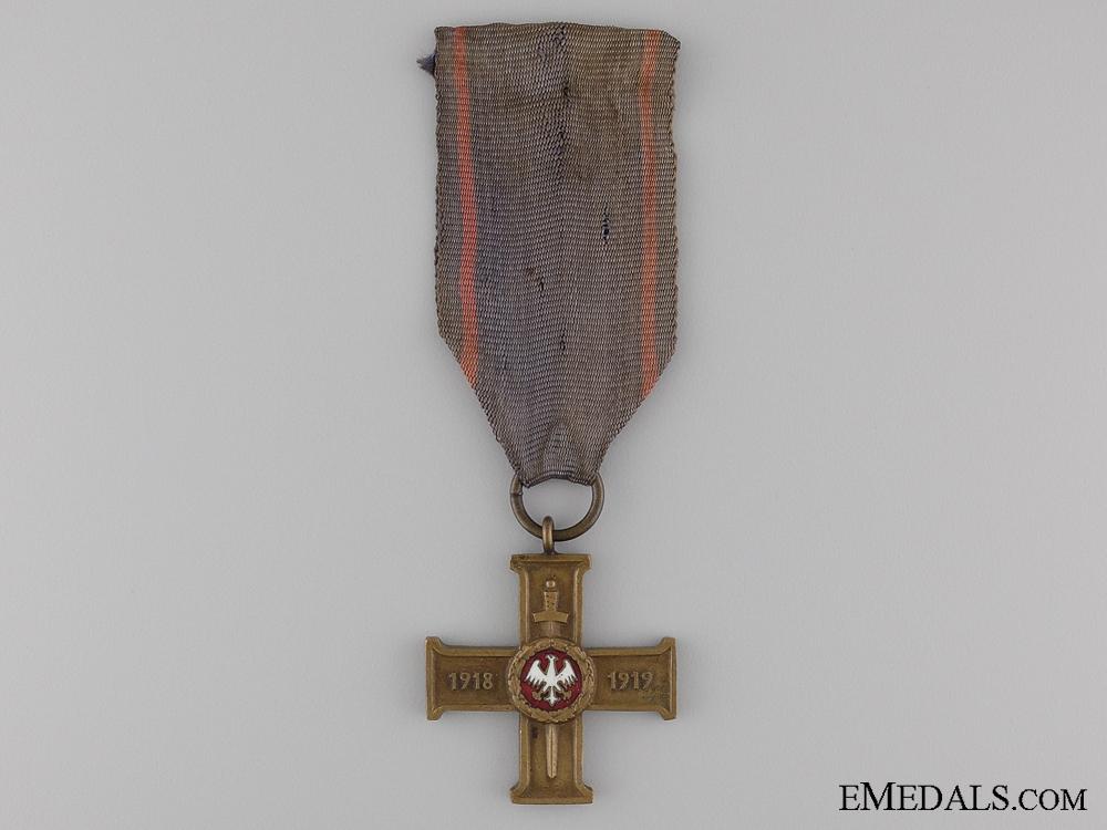 eMedals-A Polish Wielkopolski (Great Poland) Uprising Cros