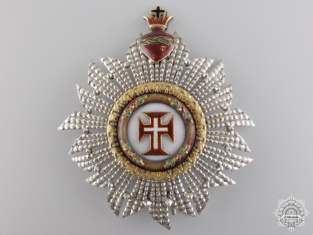 eMedals-A Portuguese Military Order of Christ; Grand Cross Star