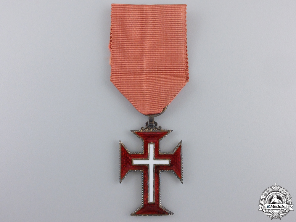 eMedals-A Portuguese Military Order of the Christ; Knight