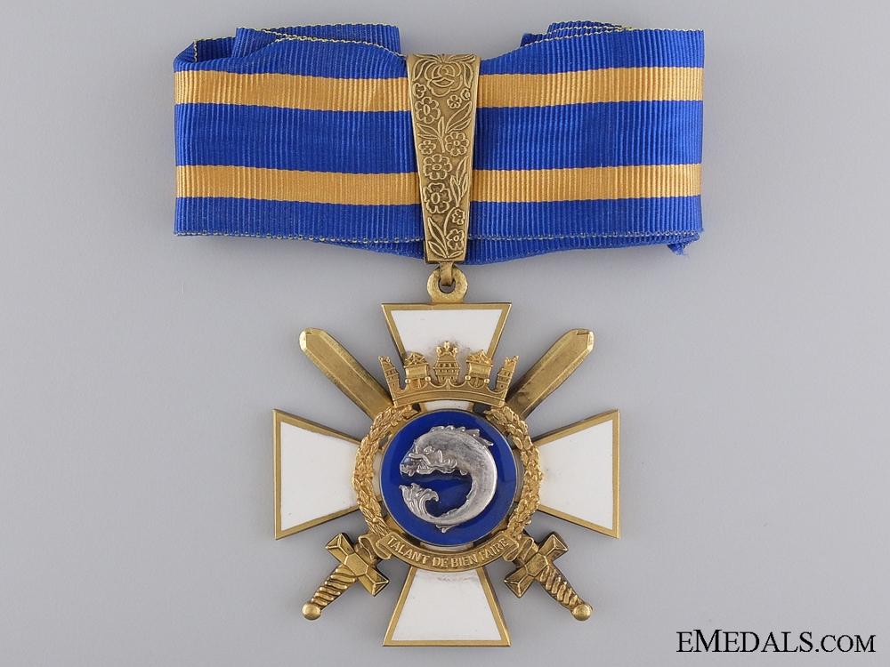 eMedals-A Portuguese Order of Naval Merit; Commander's Neck Cross