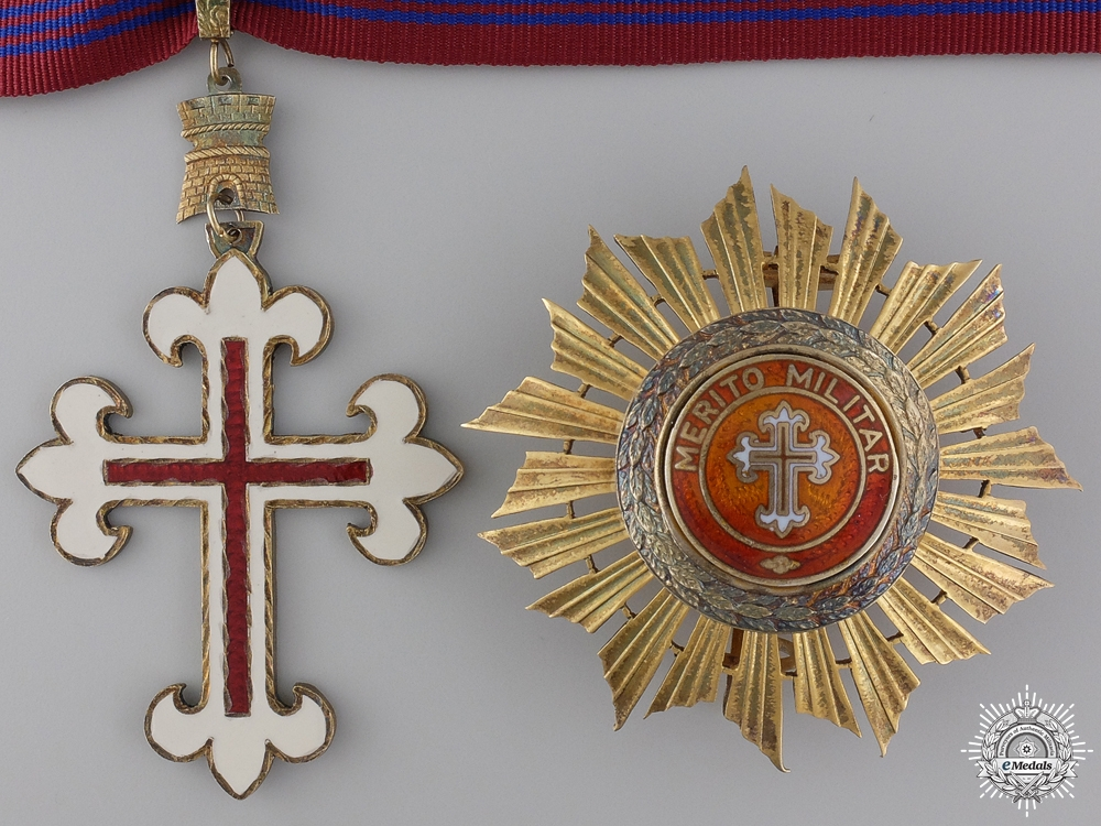 eMedals-A Portuguese Order of Military Merit; Grand Officer
