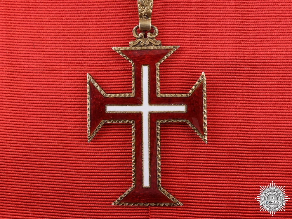 eMedals-A Portuguese Order of the Christ; Grand Cross Badge