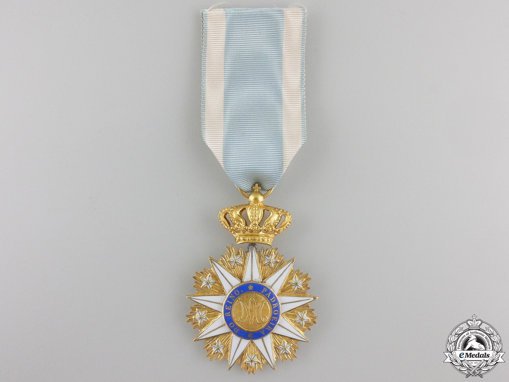 eMedals-A Portuguese Order of the Immaculate Conception of Vila Viçosa in Gold