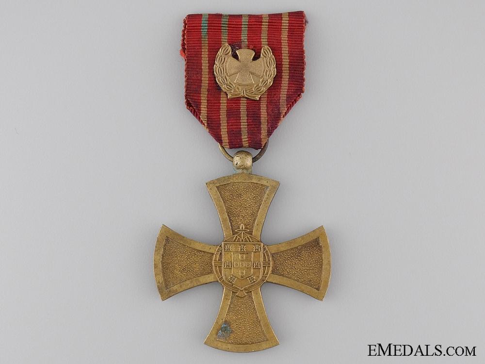 eMedals-A Portuguese War Cross 1st Class; Colonial Period