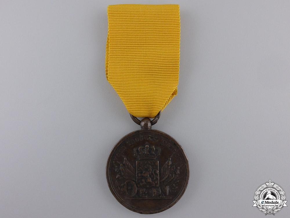 eMedals-A Pre-1928 Dutch Army Long Service Medal; Bronze Grade