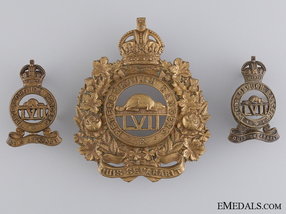 eMedals-A Pre First War 57th Peterborough Rangers Group