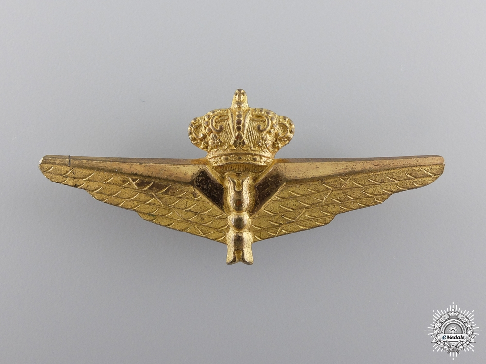 eMedals-A Pre Second War Italian Observer's Badge