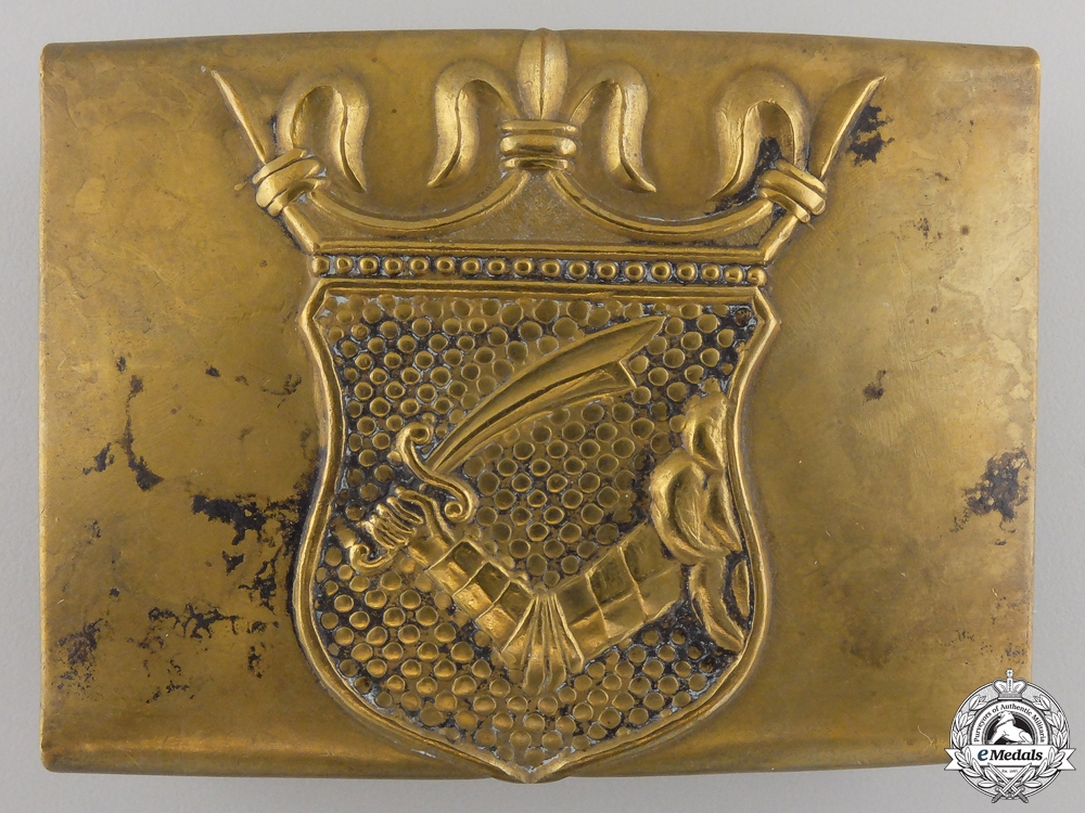 eMedals-Austria. A Belt Buckle for Troops in Bosnia, c.1910