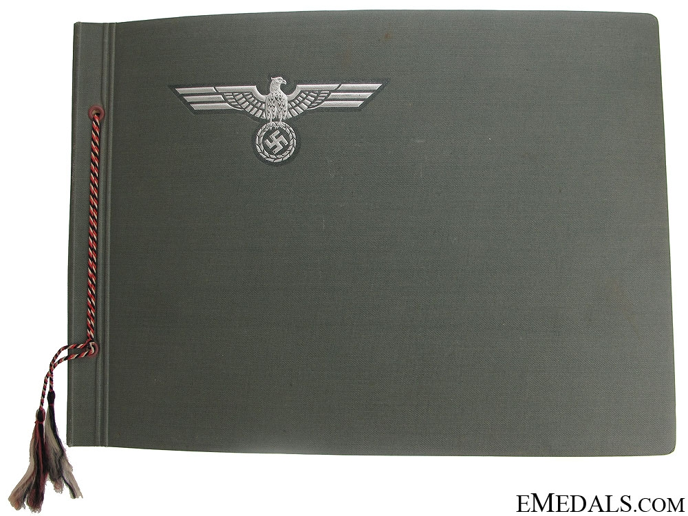 eMedals-A Pre-WWII German Army Photo Album