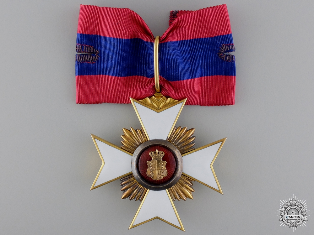 eMedals-A Princely Reuss Honor Cross; First Class in Gold