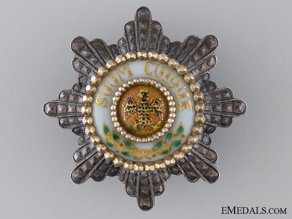 eMedals-A Prinzen Size Prussian Black Eagle Order c.1900