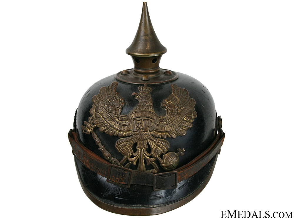 eMedals-A Prussian Enlisted Man's Pickelhaube