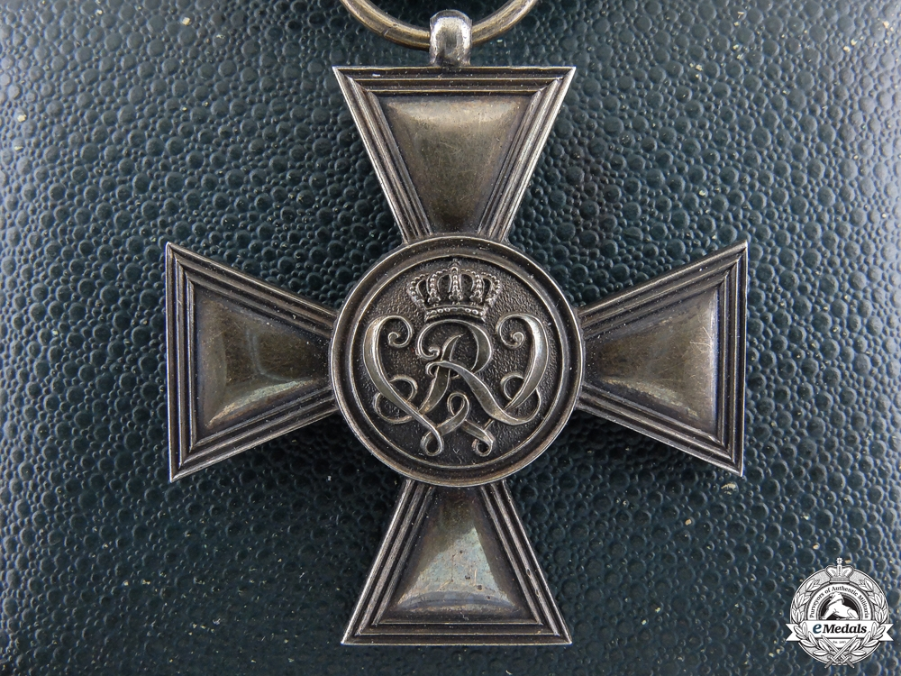 eMedals-A Prussian Golden Military Merit Cross by Wagner with Case