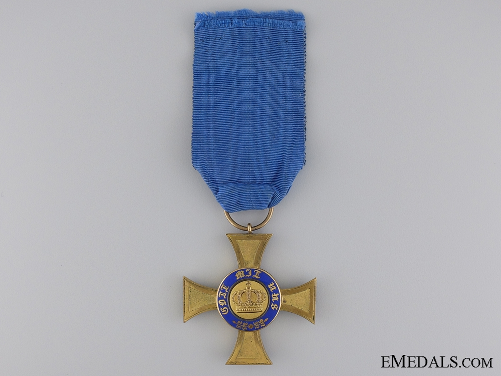 eMedals-A Prussian Order of the Crown 1867-1918; Fourth Class