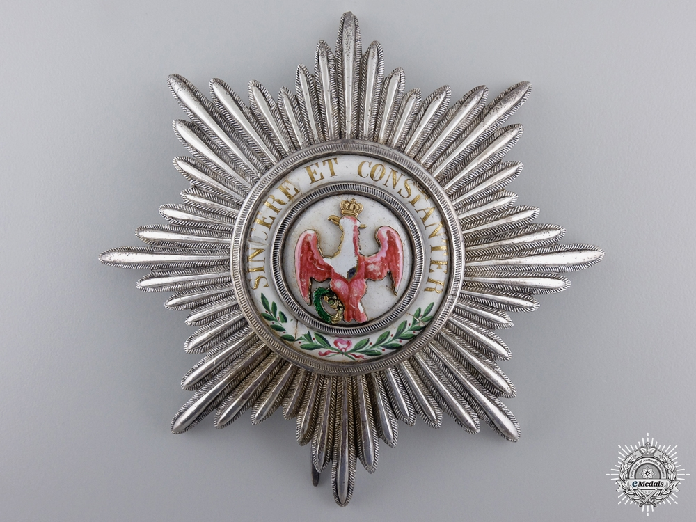 eMedals-A Prussian Order of the Red Eagle; First Class