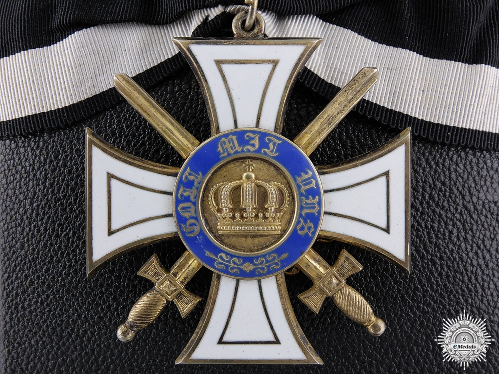 eMedals-A Prussian Order of the Crown with Swords by Wagner