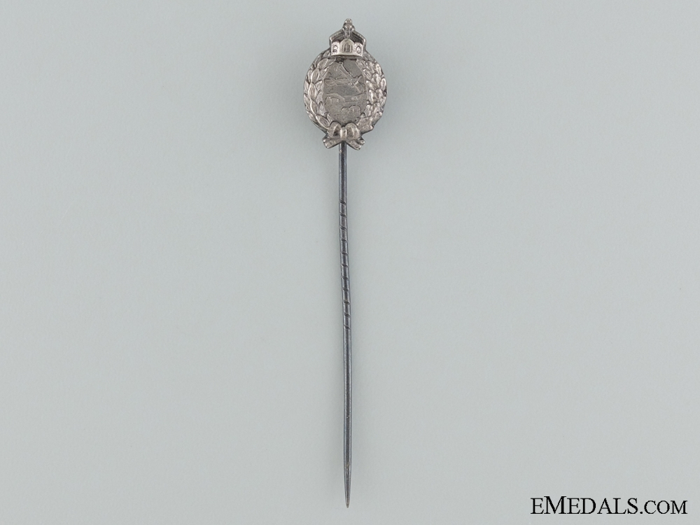 eMedals-A Prussian Pilot's Badge Stickpin; Marked 800