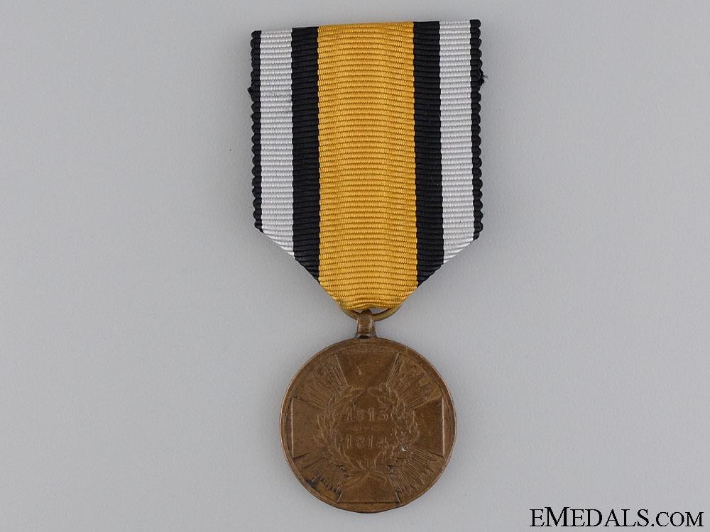 eMedals-A Prussian War Merit Medal 1813-1815