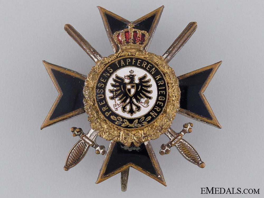 eMedals-A Prussian War Participant's Cross 1914-18; Honor Cross First Class