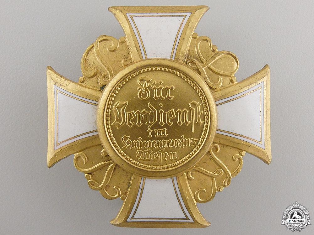 eMedals-A Prussian War Veterans Organization Honour Cross; 1st Class