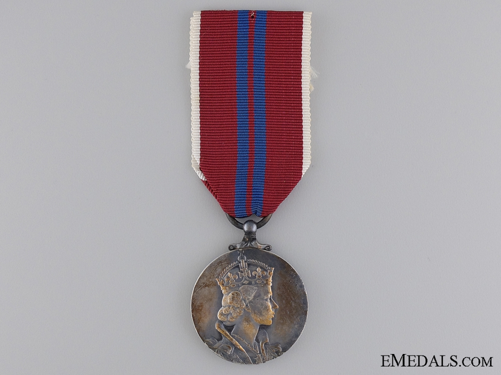 eMedals-A QEII 1953 Coronation Medal