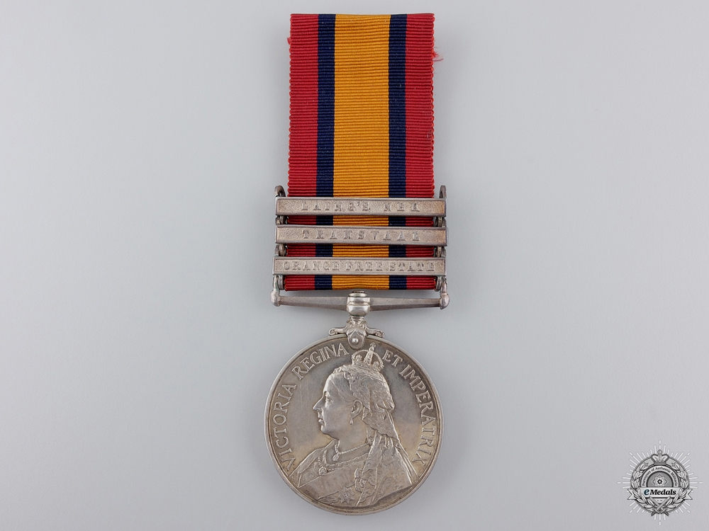 eMedals-United Kingdom. A Queen's South Africa Medal to the Lancashire Fusiliers