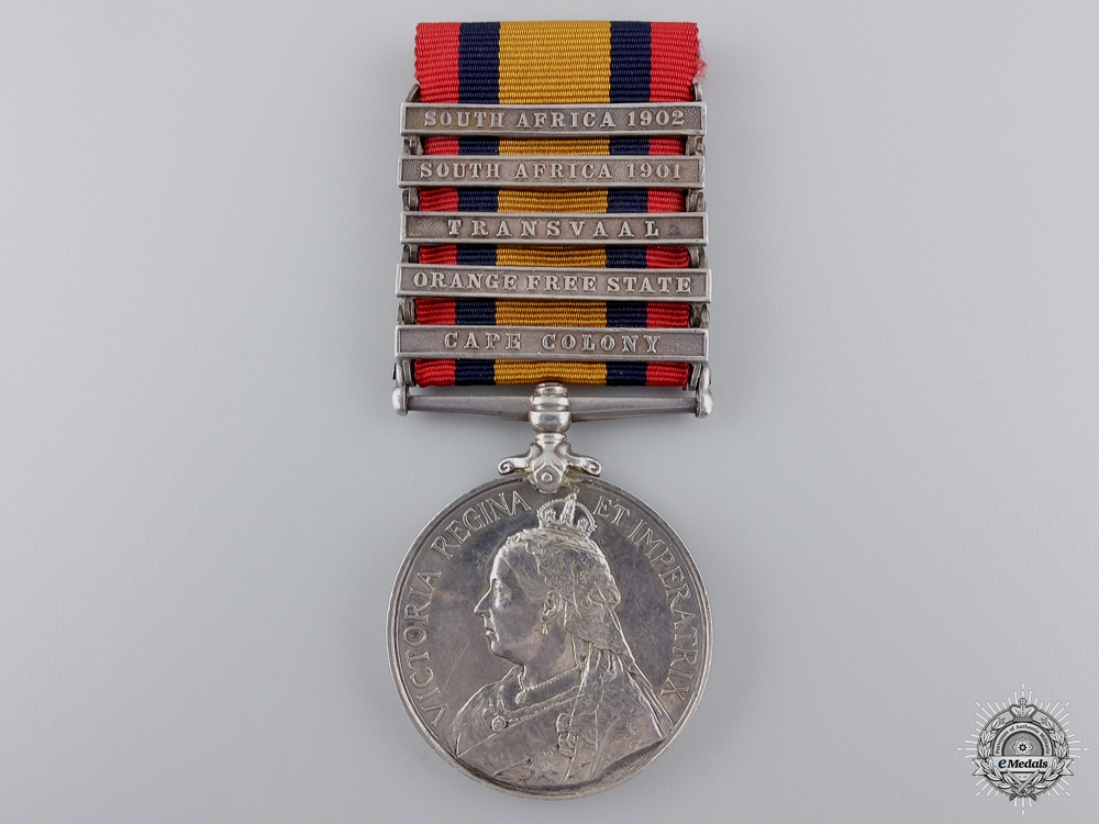 eMedals-A Queen's South Africa Medal to Imperial Yeomanry