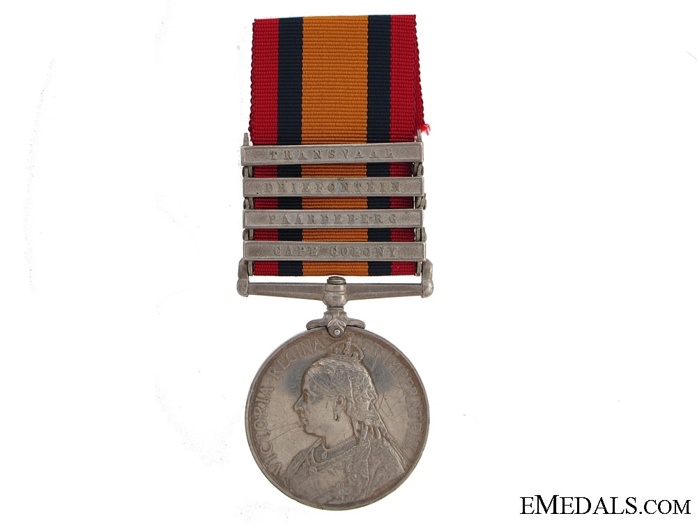 eMedals-A Queen's South Africa to the Royal Canadian Regiment