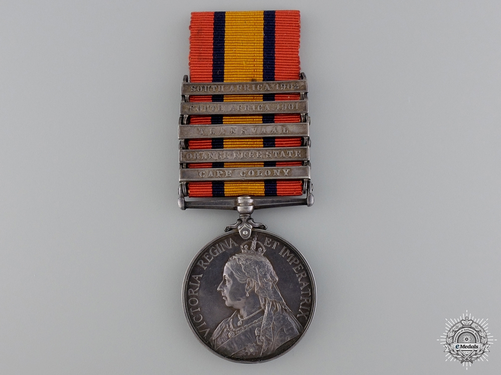 eMedals-A Queen's South Africa Medal to the South Africa Constabulary