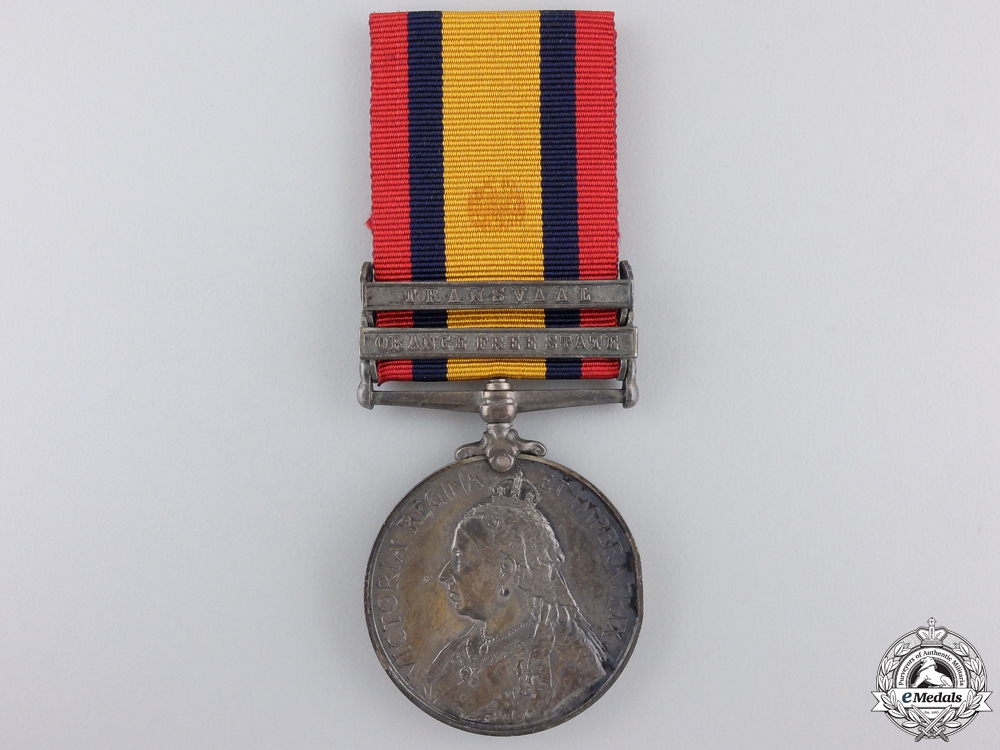 eMedals-A Queen's South Africa Medal to the 8th Hussars