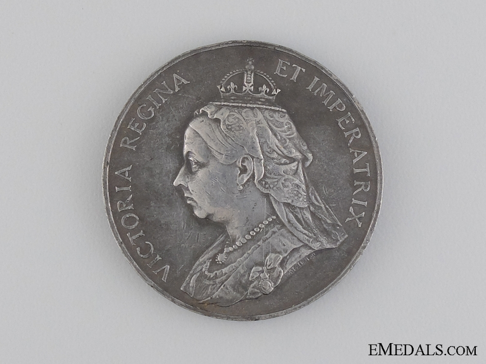 eMedals-A Queen Victoria Diamond Jubilee Commemorative Medal 1837-1897