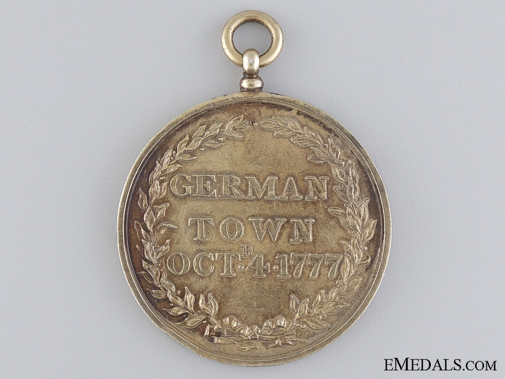 eMedals-A Rare 1777 Battle of Germantown Campaign Medal