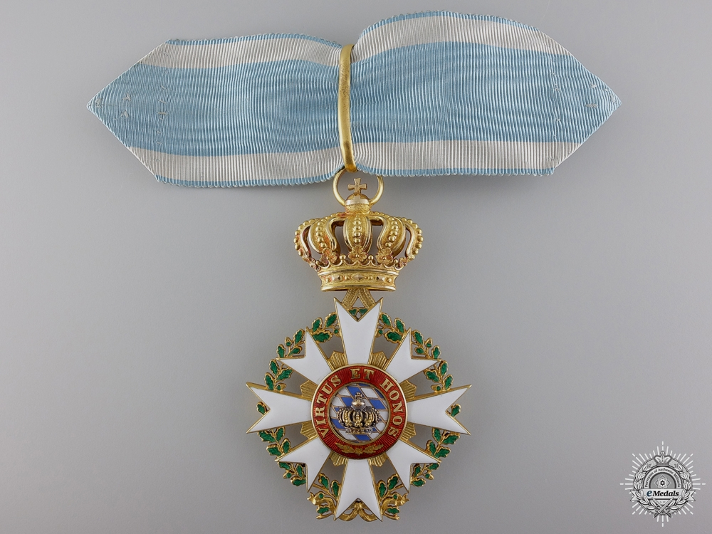 eMedals-A Rare 1880 Order of the Bavarian Crown in Gold