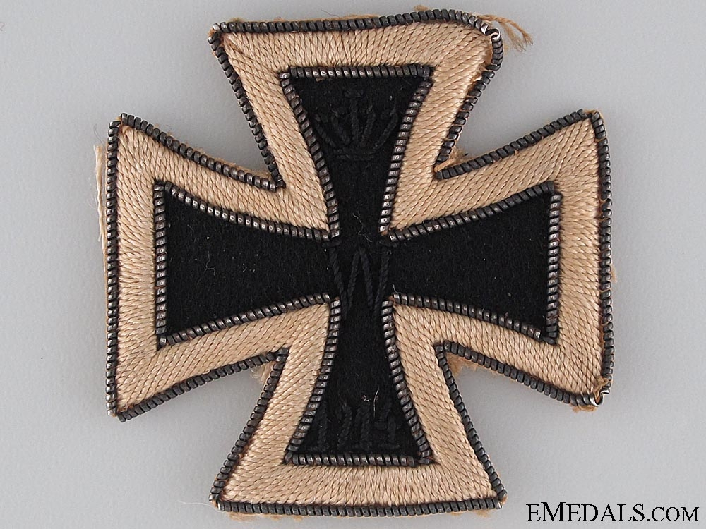 eMedals-A Rare 1914 Iron Cross First Class in Cloth