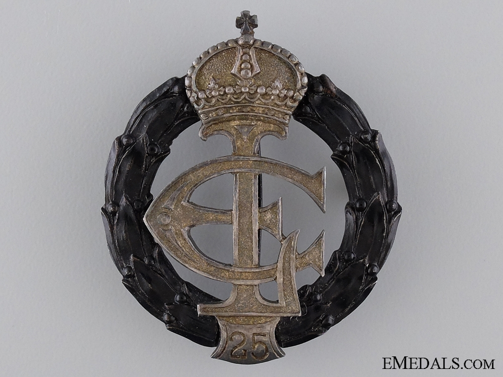 eMedals-A Rare 1917 Iron War Merit Badge by Meybauer