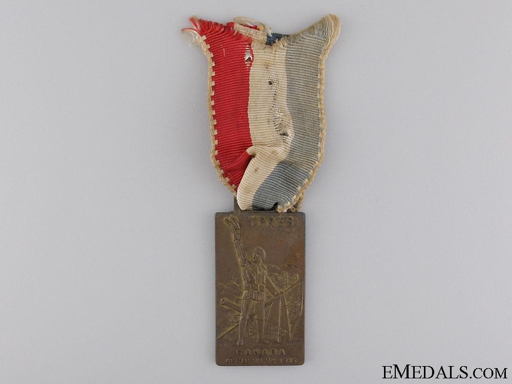 eMedals-A Rare April 22-24, 1915 Second Battle of Ypres Medal